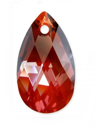Swarovski 6106 Migdał 16 mm Red Magma