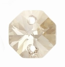 Swarovski 6404 Octagon 12 mm Silver Shade