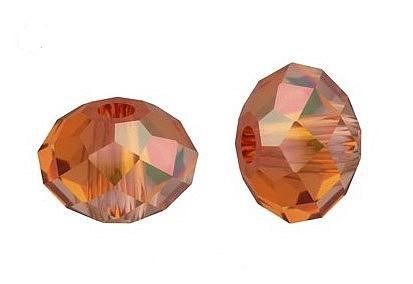 Swarovski 5040 Rondelle 6 mm Copper