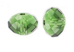 Swarovski 5040 Rondelle 8 mm Fern Green
