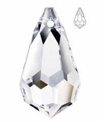 Swarovski Strass 8641 Teardrop 20 mm Crystal